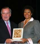 photo with mayor