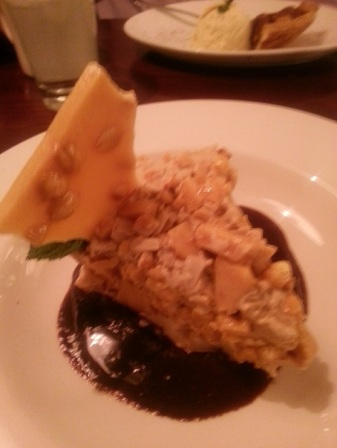 Chicago Q - Peanut Brittle Salted Carmel Ice cream