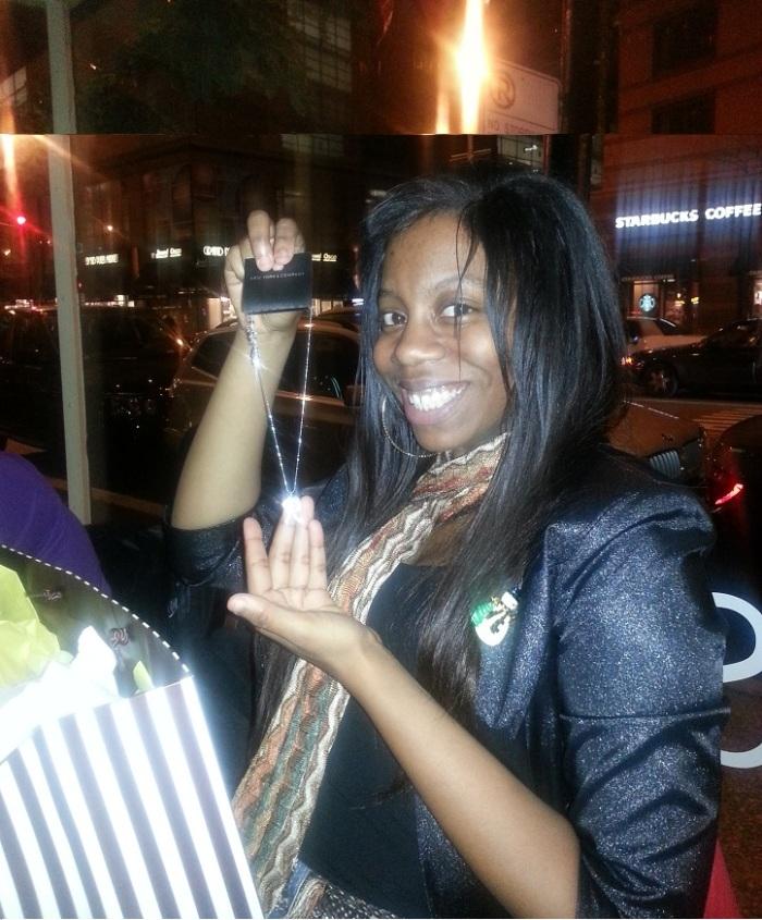 Pops - Rachel with Grad gifts