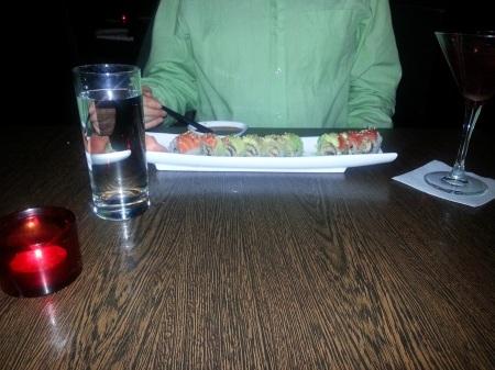 rainbow maki roll