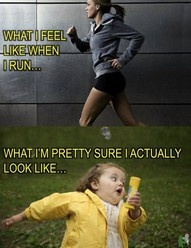 what I look like running - humor