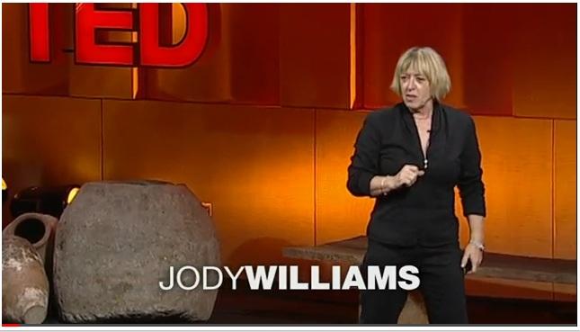 jody williams TED Talk