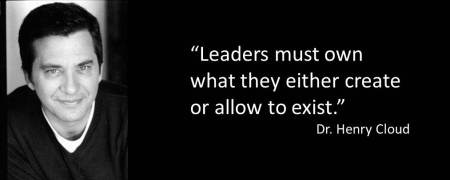 leaders own what they create