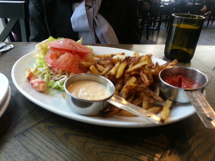 Siena Tavern - lobster roll