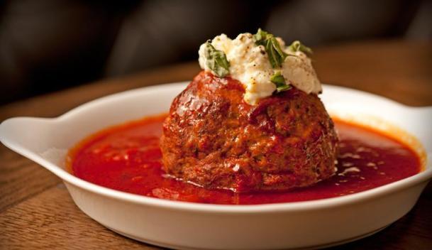 cuisine - siena tavern - meatball