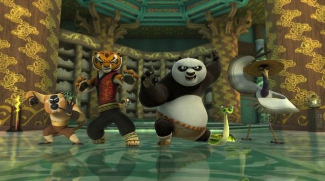 kung fu panda - fighting team