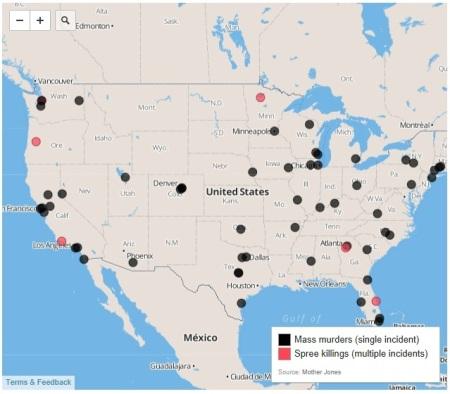 Mass murder map
