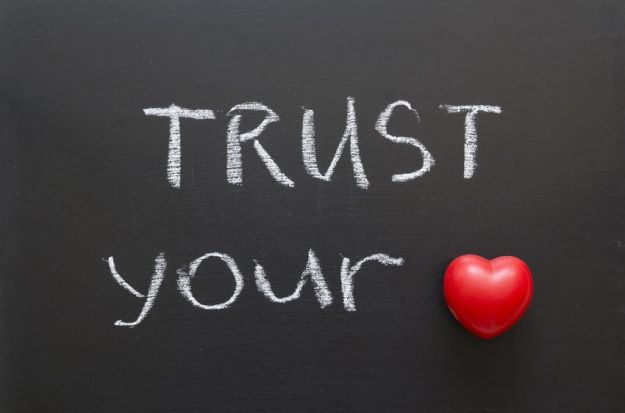 quote - trust your heart