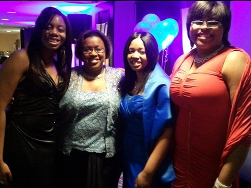 me and the ladies at TLP gala