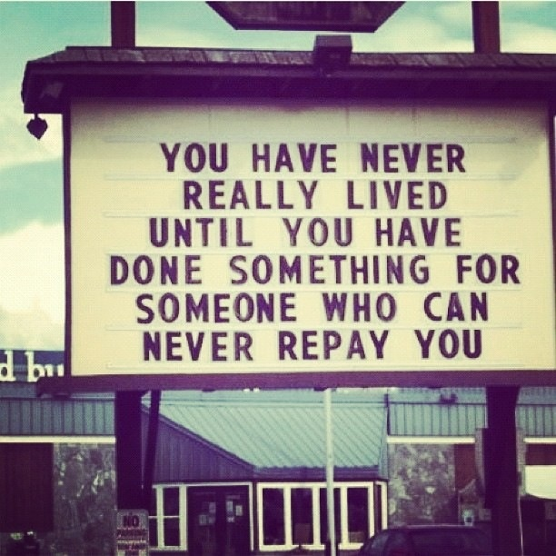 pinquote_giving to someone who cannot repay