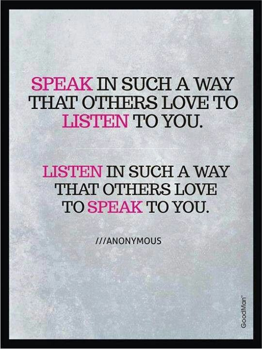 pinquote_speak so that others listen