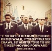 MLK Keep moving forward