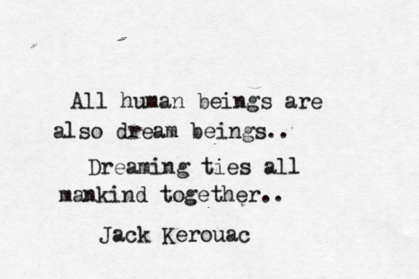 pinquote - human beings and dream beings
