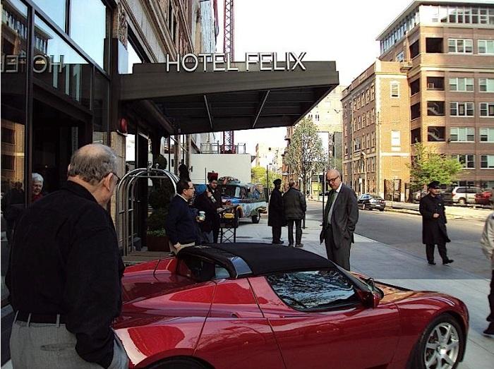 hotel felix exterior