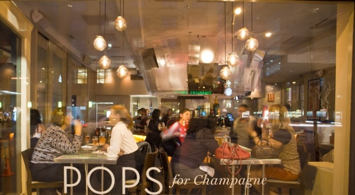 pops for champagne exterior
