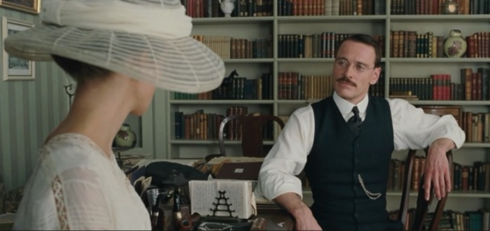 knightly and fassbender - a dangerous method