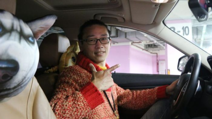 chinese uber driver